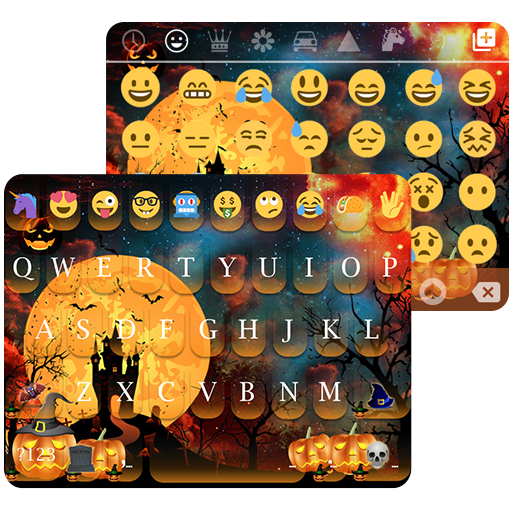 Halloween Day emoji Keyboard 個人化 App LOGO-硬是要APP