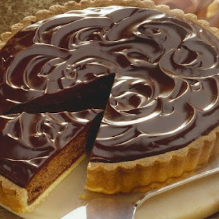 Glazed Choc Pastry Pie