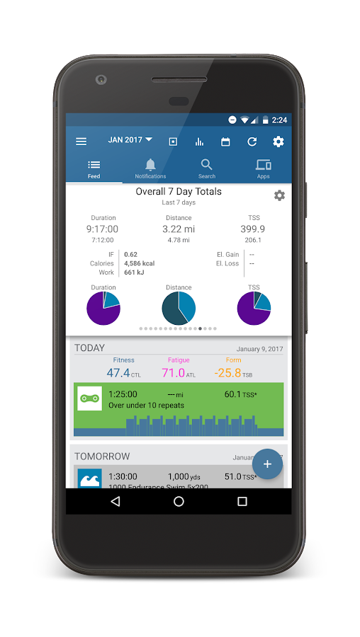 TrainingPeaks- screenshot