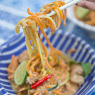 Skinny Satay Noodles.