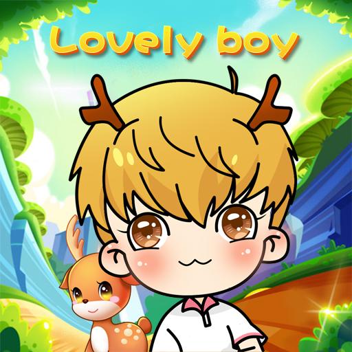 漫画の素敵な男の子 LOGO-HotApp4Game