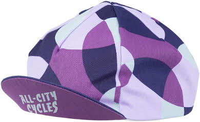 All-City Dot Game Cycling Cap - Dark Purple, One Size alternate image 1
