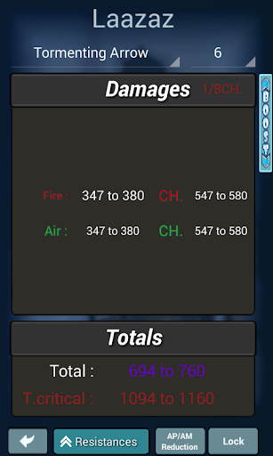 Calculator Dofus Touch  screenshots 4