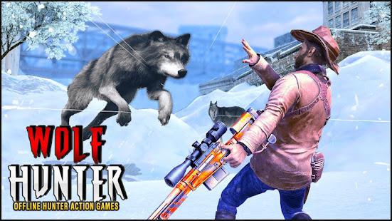 Wolf Hunter 2020: Offline Hunter Action Games 2020 for PC-Windows 7,8,10 and Mac apk screenshot 6