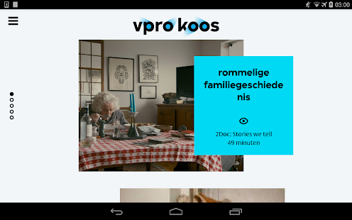 VPRO  Koos- screenshot thumbnail