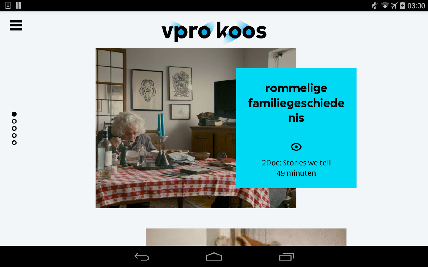 VPRO  Koos- screenshot