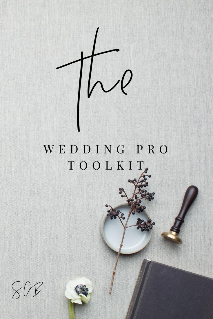 The Wedding Pro Toolkit
