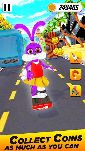 Bunny Runner: Subway Easter Bunny Run 3 screenshots 2