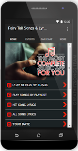 Fairy Tail Songs & Lyrics, Update. - náhled
