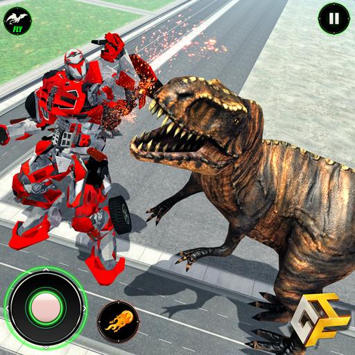 Warriors Into The Wild Audiobook: Baixar Wild Dinosaur Attack Vs Super Dragon Flying Robot