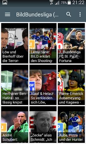 android Live Football Score Bundesliga Screenshot 0