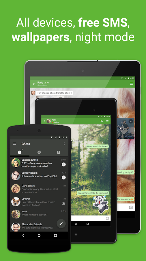 icq video calls & chat- screenshot