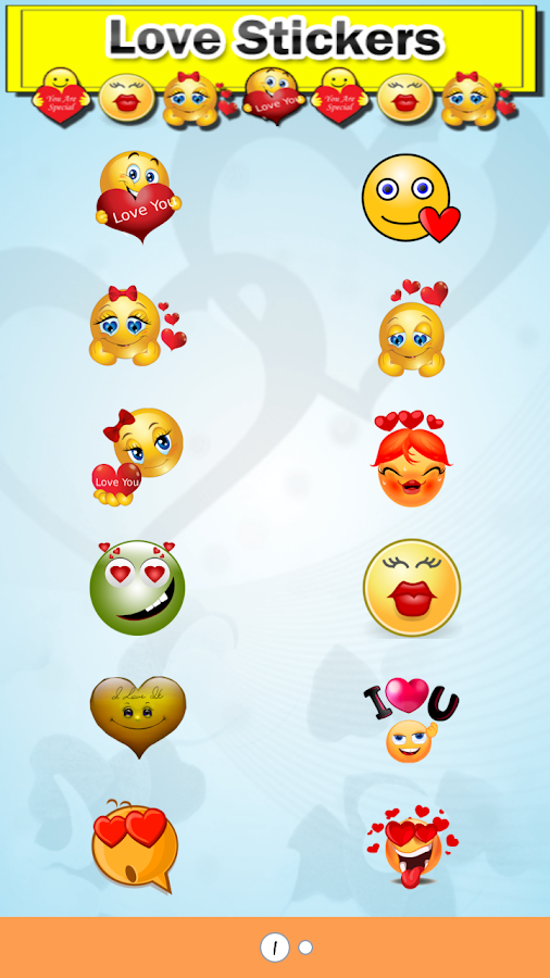 Chat Stickers New- screenshot