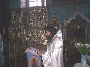 Photo: Oracion ante el Ambon, Primera Oracion como sacerdote