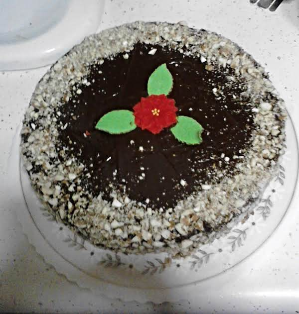 Mandelbaum Torte I Made.  My Picture.