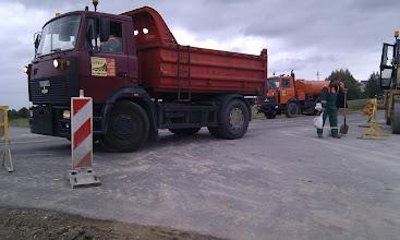 Photo: Prasideda asfaltavimo darbai