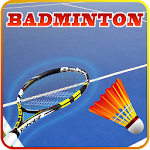 Badminton 3D Icon