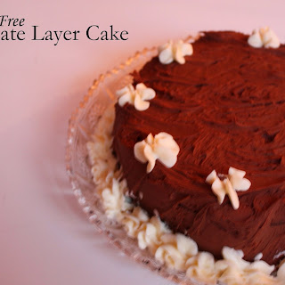 Neapolitan celebration cakes part II - gluten-free chocolate layer cake