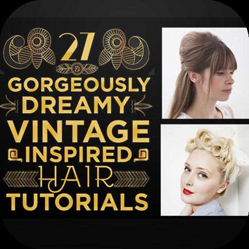 Hair Style Vintage for Women 遊戲 App LOGO-硬是要APP