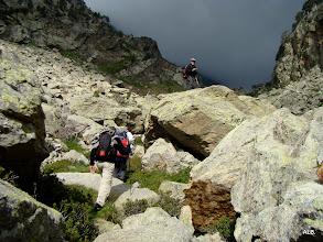 Photo: Por las rocas.