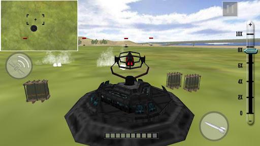 导弹系统模拟器 - 战争