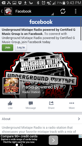 Underground Mixtape Radio  screenshots 2