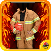 Firefighter Suit Photo Editor