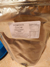 Photo: Powder Chow - Chocolate Ordered: May 22 Arrived: May 29  Taste fresh mixed - chocolate, lightly chilled-slightly more mild chocolate - like you mixed up ovaltene but with too much milk  Texture fresh mixed - thin, slightly gritty chilled - smooth, but thin, slight grit in finish  Fullness pretty full for hours  Notes I like it, great taste, good texture. I didn't have the requested oil so I used olive oil. I personally dislike having to have a thing - I prefer how some brands ship with the appropriate oil. On the other hand the flavor is delicious. I also like how the directions are on the bag - would prefer if it was 3ml (1/2tsp) or such.  buy: http://powderchow.com/   About Me: http://amazonv.dreamwidth.org/67568.html  Project Tag: https://amazonv.dreamwidth.org/tag/soylent+experiment  Spreadsheet: https://docs.google.com/spreadsheets/d/1c_ceOFR7S_4qUiVcEG3ykQiSRpuc13PnmcraBwklDWg/edit#gid=0  Photos: https://plus.google.com/photos/104379818983119483801/albums/6137295043742319505   writeup: http://amazonv.dreamwidth.org/67957.html