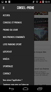 Conseil-prono- screenshot thumbnail