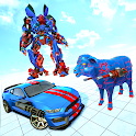 Sheep Robot Games: Robot Car Transform icon