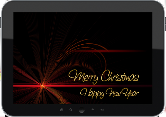 android Merry Christmas Greetings Screenshot 1
