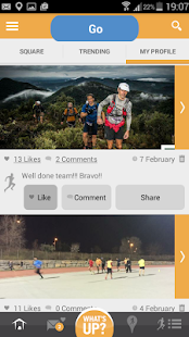 Runner Square screenshot