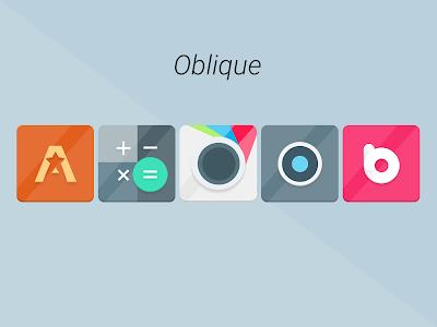 Oblique - Icon Pack v1.1