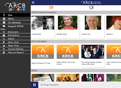 KRCB App- screenshot thumbnail