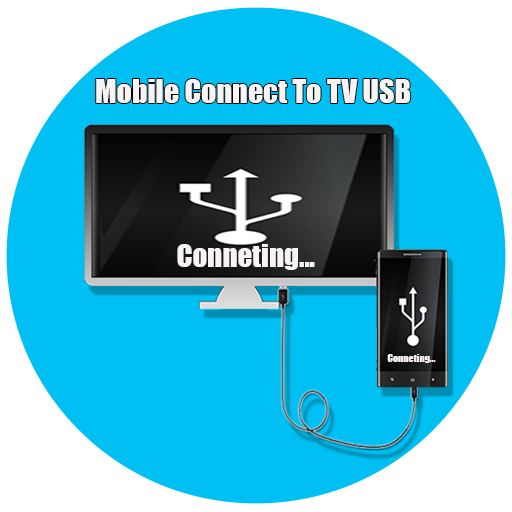 Icon for Connector Tv ( usb-otg-hdmi-mhl-connect phone )