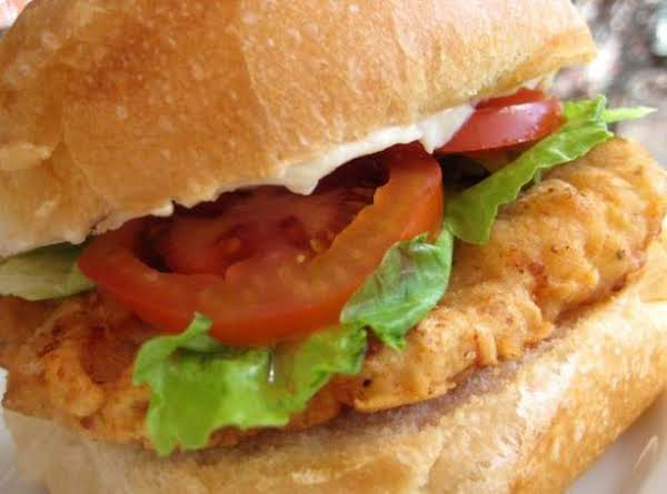 Wendy's Spicy Chicken Fillet Sandwich