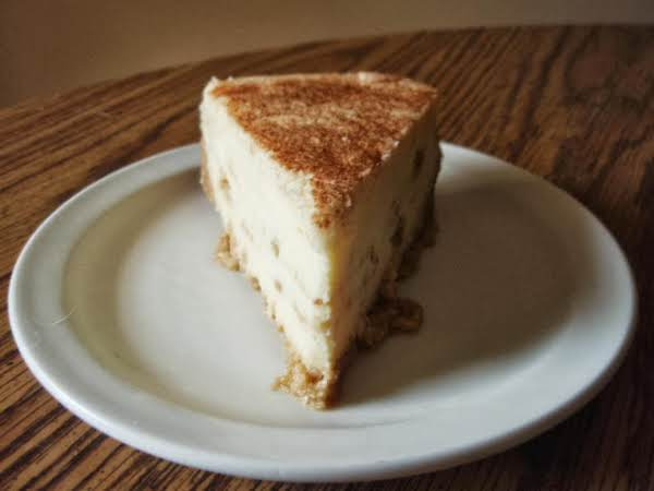 Cinnamon Swirl Cheesecake Recipe