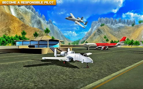 ✈️ Fly Real War jet Airplane- screenshot thumbnail