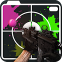 Sniper Paintball Camera 3D icon