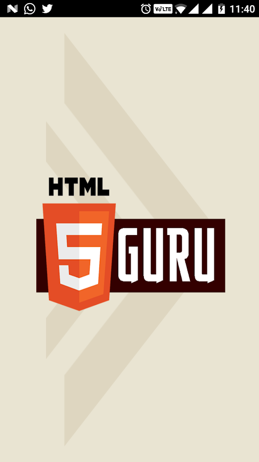HTML5 Guru- screenshot