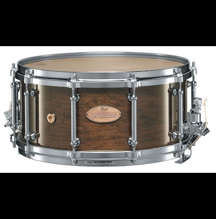 "14"" x6,5"" Pearl Philharmonic virveltrumma - High Gloss Walnut Bordeaux"