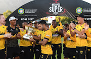 Jozi Stars celebrate during the Mzansi Super League final match between Cape Town Blitz and Jozi Stars at PPC Newlands on December 16, 2018 in Cape Town, South Africa.