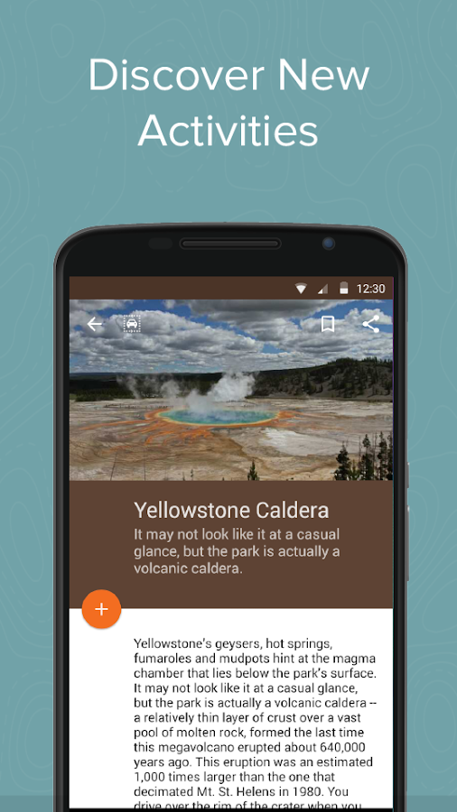 Yellowstone Ntl Park: Chimani- screenshot