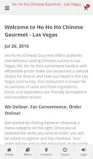 Ho Ho Ho Chinese Gourmet- screenshot thumbnail