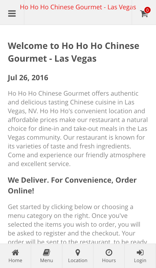 Ho Ho Ho Chinese Gourmet- screenshot