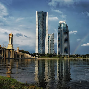 rainbow by Hafizi Ahmad - Buildings & Architecture Office Buildings & Hotels