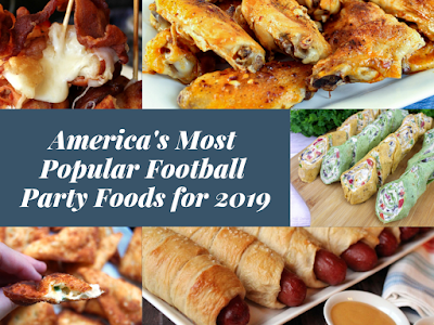 America's Most Popular Football Party Food Recipes