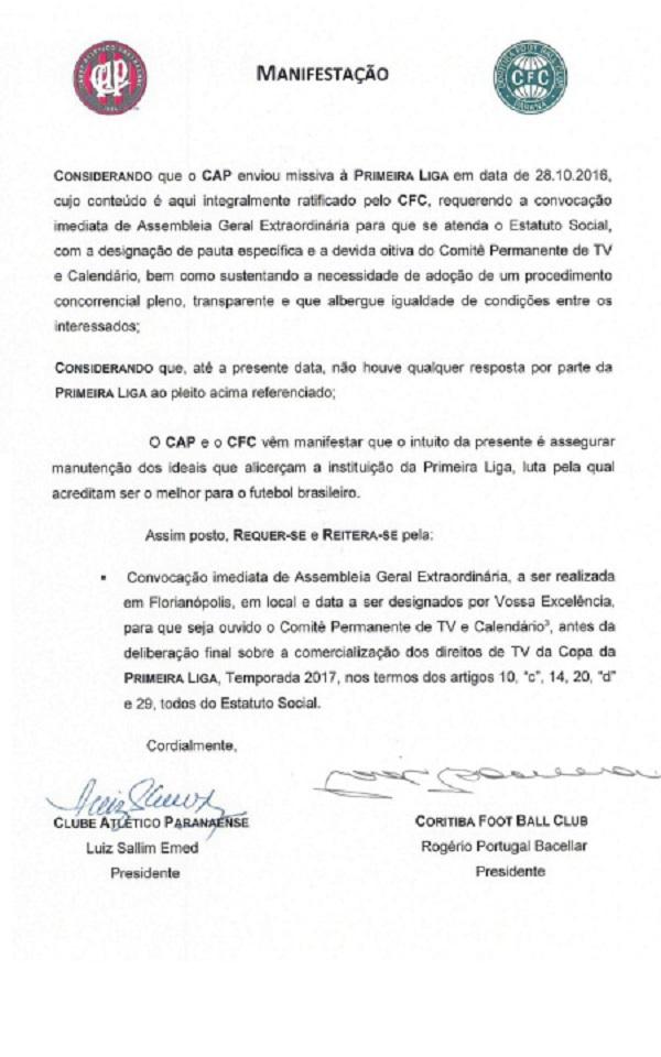 Clubes querem se livrar da Globo