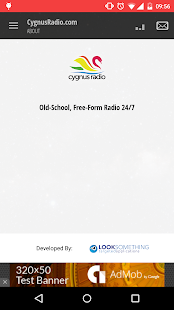 CygnusRadio.com- screenshot thumbnail