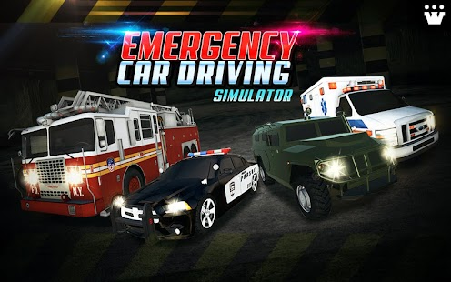Emergency Car Driving Simulator- screenshot thumbnail